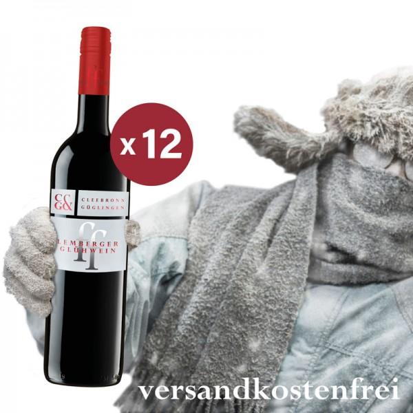 12 Flaschen Lemberger Glühwein fein & fruchtig Frei-Haus