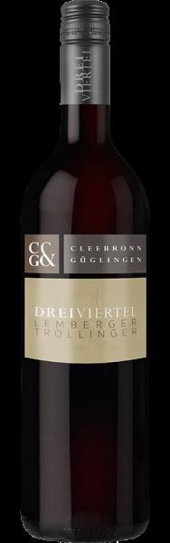 Dreiviertel Pfaffenhofener Heuchelberg Lemberger mit Trollinger