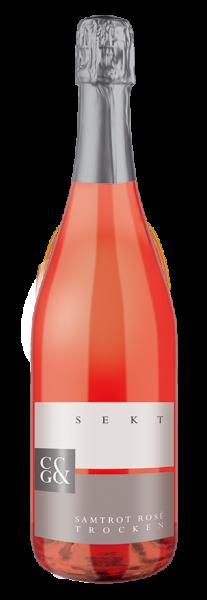 Samtrot Rosé Sekt trocken